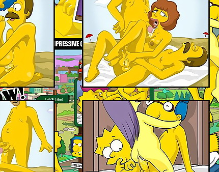 Young and adult Simpsons - Simpsons Sex