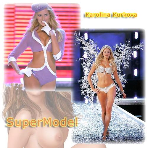 Supermodel Karolina Kurkova - Adult Comics Celeb Blonde Karolina Kurkova