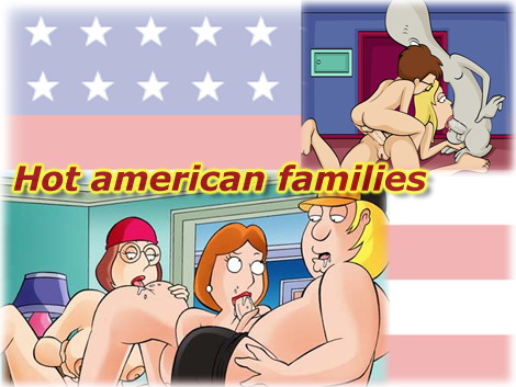American Dad VS Family Guy - Cartoons Sex Porn Comics
