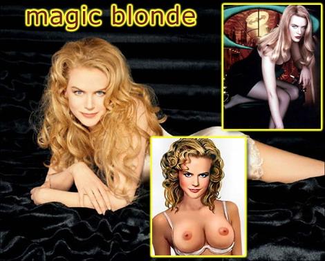 Naked Nicole Kidman - Celeb Blonde Nicole Kidman