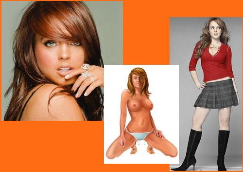 Lindsay Lohan sex comics - Celeb Redhead Girl Famous Comics Lindsay Lohan