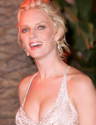 Uma Thurman sexy comics - Adult Comics Celeb Blonde Uma Thurman