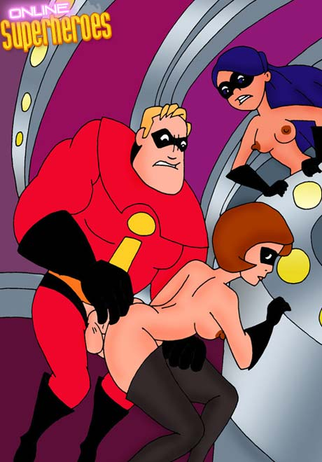 elastigirl und violetten sex cartoon
