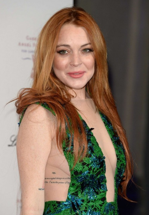 Sinful babe Lindsay Lohan