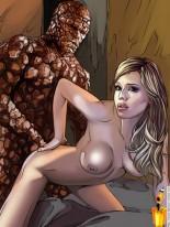 Banging superheroes - the Fantastic Four - Famous Comics Superheroes Sex