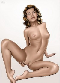 Nude celeb comics - All Comics