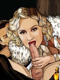 Leo DiCaprio fucks Cate Blanchett - Cate Blanchett Famous Comics