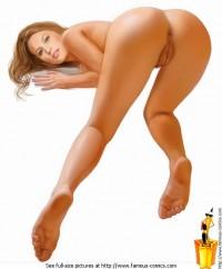 Naked Gisele Bundchen - Celeb Blonde Famous Comics Gisele Bundchen naked