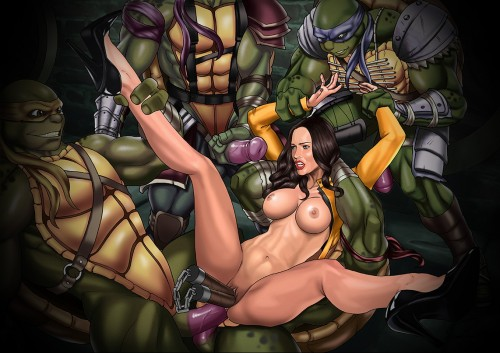 Megan Fox hentai scene