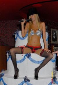 Jenna's sexy stripshow - Celeb Blonde Jenna Jameson