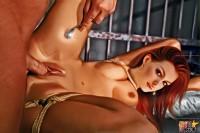 Hard BDSM for celebrity - Adult Comics Celebs in bondage