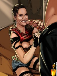 Adult comics with blowjob - Famous Comics Hilary Swank porn