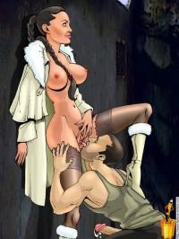Hardcore thrilling sex - Celebs Porn Famous Comics