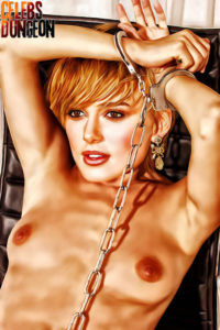Keira Knightley in a Dungeon - Adult Comics Celebs in bondage