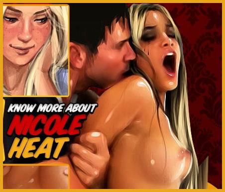 Nude comics of lesbians - Nicole Heat comics