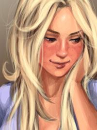 XXX comix of blonde - Nicole Heat comics