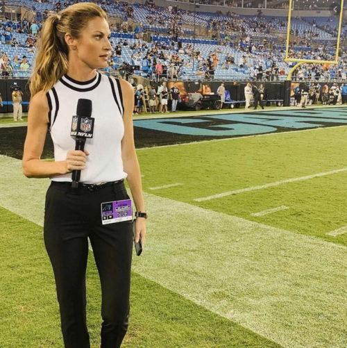 Sexy American sportscaster