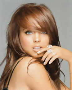 Lindsay Lohan in comics & videos - Adult Comics Celeb Redhead Girl Lindsay Lohan